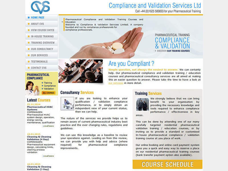 Compliance and Validation Services before