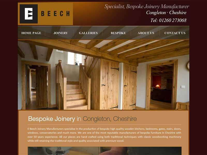 E Beech Joinery after