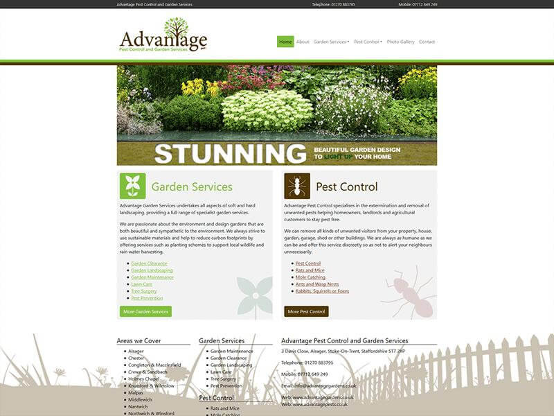 Advantage Garden Services and Pest Control
