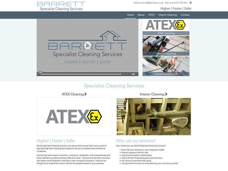 Barrett Specialist Cleaning Services