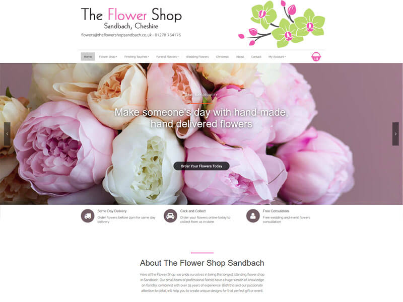 The Flower Shop Sandbach