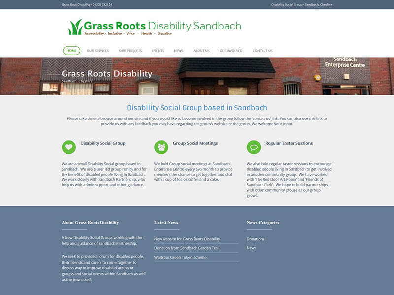 Grass Roots Disability Sandbach