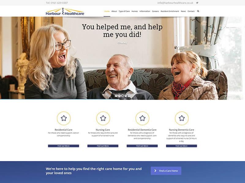 Website Design Portfolio - Website Design in Cheshire by Clarke ...