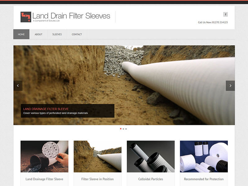 Land Drain Filter Sleeves