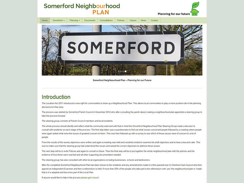 Somerford Neighbourhood Plan
